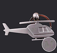 cheap -Personalized Engraved Gift Creative Helicopter Shaped Keychain