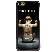 cheap -Personalized Case Boy Design Metal Case for iPhone 5C