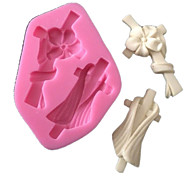 molde de silicone molde flor lenço silicone fondant fondant de goma fimo paste& chocolate