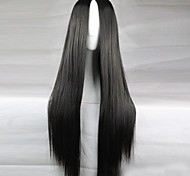 cheap -Synthetic Wig Black Women's Black Wig Long Synthetic Hair