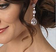 Fashing Wedding Party Birde CZ Crystal Earring
