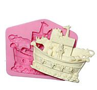 Недорогие -животное Corsair для украшения торта силиконовые формы силиконовые формы для помадные ремесел украшения шоколада PMC смолы глины