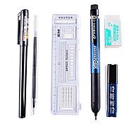 Writing Sets for Examinations(Ruler, Gel Pen, Pencil, Eraser, Cartridge)