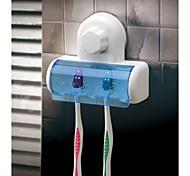 Недорогие -магия сосание диск пять держатель зубной щетки (случайный цвет)