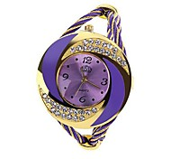 Women's Watch Bracelet Whirlwind Circle Style Gold Alloy (Assorted Color) Cool Watches Unique Watches Strap Watch