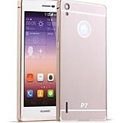 Недорогие -Для Кейс для Huawei Покрытие Кейс для Задняя крышка Кейс для Один цвет Твердый Акрил Huawei Huawei P7