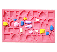 High Quality Diamond Shape Silicone Material Cake Mold,Baking Tool 1pc