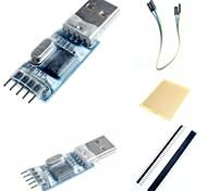 Недорогие -PL2303 Mini USB модуль связи UART доска и принадлежности для Arduino