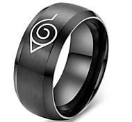 Classic naruto Men's  Titanium Steel Rings(As Picture)(1 Pc)