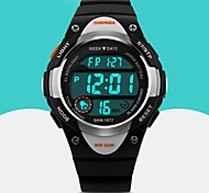 cheap -SKMEI Men's Quartz Digital Japanese Quartz Digital Watch Wrist Watch Sport Watch Alarm Calendar / date / day Rubber Band Fashion Cool