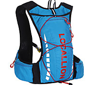 10 L Paquetes de Mochilas de Camping Ciclismo Mochila Bolso de Gimnasio / Bolsa de YogaPesca Escalada Natación Deportes recreativos
