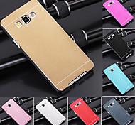 Недорогие -ДФ роскошь высокого качества сплошной цвет матового алюминия жесткий чехол для Samsung Galaxy a7