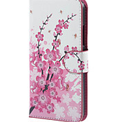 For Nokia Case Wallet / Card Holder / with Stand Case Full Body Case Tree Hard PU Leather Nokia Nokia Lumia 640
