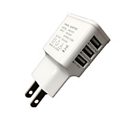 Недорогие -cwxuan ™ универсальный eu plug3-port usb charger iphone 8 7 samsung s8 s7 6 6 plus 5 5 s s4 5 htc lg