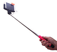 cheap -DF Cable Take Pole Extendable Selfie Handheld Monopod Stick Holder for iPhone 4/4S/5/5S/6/6Plus(Assorted Colors)