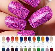 cheap -Nail Polish UV Gel  0.008 1 Glitters UV Color Gel Classic Soak off Long Lasting  Daily Glitters UV Color Gel Classic High Quality