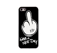 Have A Nice Day Design Aluminum Hard Case for iPhone 5/5S iPhone Cases