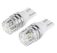 Недорогие -T10 Автомобиль белый 0.5W Светодиоды для поверхностного монтажа 6000Лампа освещения номерного знака Габаритные огни Лампы сигнала