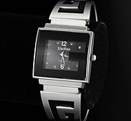 Women's Simple Rectangle Dial Alloy Band Quartz Analog Bracelet Watch Cool Watches Unique Watches Strap Watch