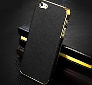 banhados a ouro shell padrão telefone cruz para iphone 5 / 5s (cores sortidas)