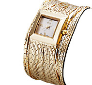 Жен. Наручные часы Часы-браслет Модные часы Японский Кварцевый Защита от влаги Позолоченное розовым золотом Группа Винтаж На каждый день