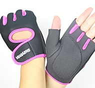 Sports Gloves Bike Gloves / Cycling Gloves Wearable Breathable Wearproof Tactical Fingerless Gloves Mesh Cycling / Bike Fitness Motorbike