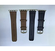 Watchband For Apple Watch 3 iWatch Watchband With Connector For Apple iWatchGenuine Leather Watchband for iWatch 42mm