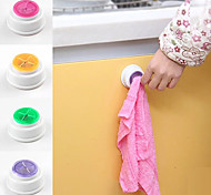 cheap -Poke N Pull Self Adhesive Easy Install Towel Holder (Random Color)