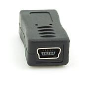 cheap -Micro USB 2.0 Male to Mini USB 2.0 Female Converter Connector Plug Adapter