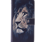 cheap -Case For LG G3 Mini LG G3 LG L70 LG LG G4 LG Case Card Holder Wallet with Stand Flip Full Body Cases Animal Hard PU Leather for LG G2 Mini