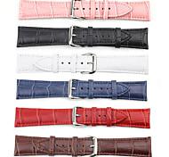 Недорогие -Часовая группа для часов яблока 42мм кожаный ремешок для часов классический пряжкой для кроко