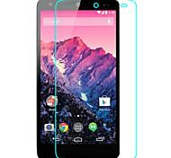 preiswerte -Displayschutzfolie LG für LG Nexus 5 Hartglas 1 Stück High Definition (HD)