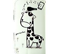 Недорогие -Кейс для Назначение SSamsung Galaxy Кейс для  Samsung Galaxy Бумажник для карт Кошелек со стендом Флип Чехол Животное Кожа PU для Trend
