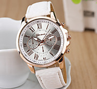 Women's Watches New Geneva Color Belt Quartz Watch Casual Eyes Decorative Watches Cool Watches Unique Watches Fashion Watch Strap Watch