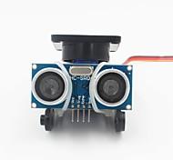 Ultrasonic Distance Measuring Transducer Module Kit w/ 9g Servo - Black
