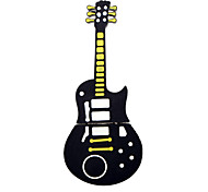 Cute Black Guitar Style USB 2.0 Flash Stick Memory Pen Thumb Drive Storage 1GB
