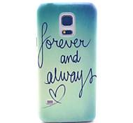 Недорогие -всегда любить шаблон шт жесткий футляр для Samsung Galaxy S5 мини