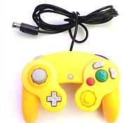 Orange Wired Game Controller for Nintendo GameCube / Wii Console