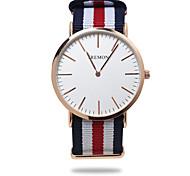 Недорогие -Муж. Модные часы Японский Повседневные часы Материал Группа На каждый день Черный / Синий / Красный