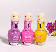 нетоксичен конфеты цветные лак для ногтей (3 цвета по желанию)