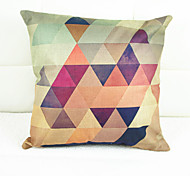 хроматические геометрия крышки декоративная подушка (17 * 17 дюймов)