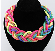 Women's Choker Necklaces Alloy Fashion Handmade Costume Jewelry Jewelry For Special Occasion Birthday Gift