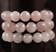 cheap -Beadia 39Cm/Str (Approx 98Pcs) Natural Rose Quartz Beads 4mm Round Pink Stone Beads DIY Accessories