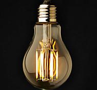 e26 / e27 светодиодные шариковые шарики a60 (a19) 6 cob 600lm теплый белый 2800-3200k диммируемый AC 220-240 переменного тока 110-130v