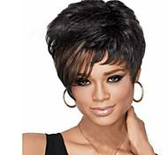 Недорогие -Европейский и американский ppopular высокое качество способа цвета волос парики натуральные парики волн