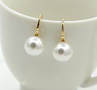 Stud Earrings Drop Earrings Crystal Pearl Imitation Pearl Rhinestone Gold Plated 18K gold Simulated Diamond Fashion Silver Golden Jewelry