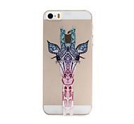 жираф рисунок шт Материал телефон случае для iPhone 5 / 5s
