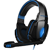 cheap -KOTION EACH Over Ear / Headband Wired Headphones Plastic Gaming Earphone with Volume Control / with Microphone / Noise-isolating Headset