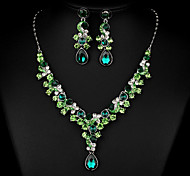 Women's Choker Necklaces Multi-stone AAA Cubic Zirconia Drop Gemstones   Necklaces Fashion Vintage Luxury Jewelry For Wedding Party