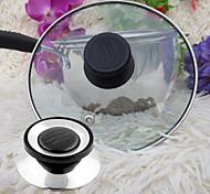 cheap -Universal Cookware Pot Pan Lid Replacement Screw Handle Circular Utensil Cover Holding Knob